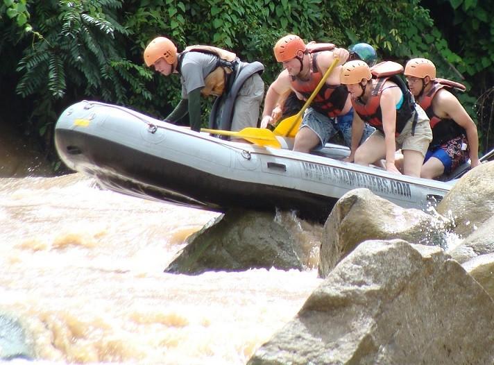 Rafting  in Chiang Mai