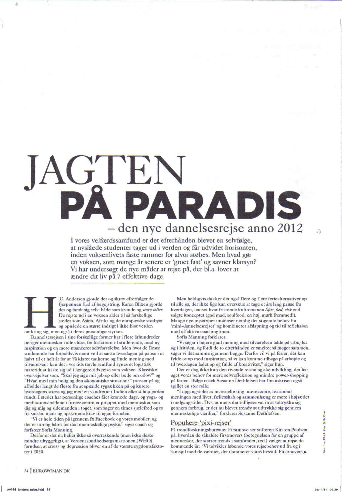 Danish Magazine Mention