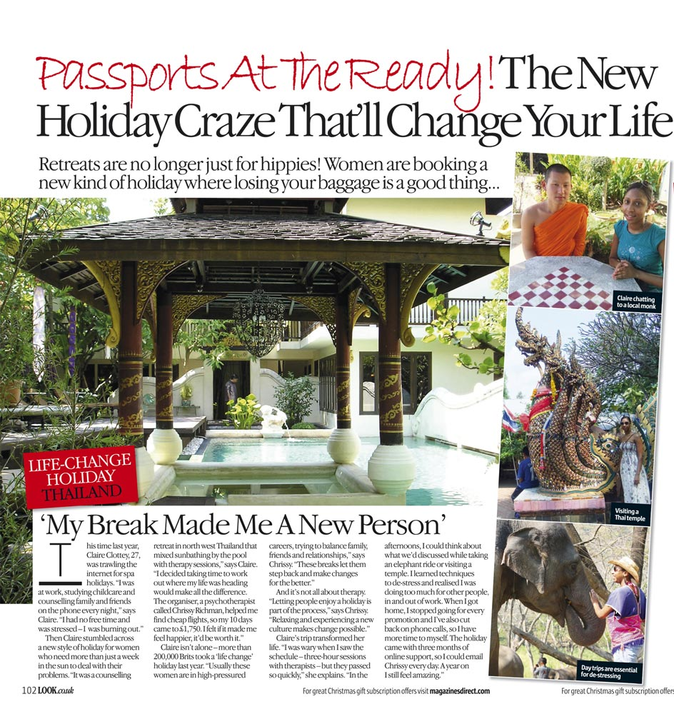 Holiday Craze in Look Magazine