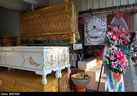 coffins in Chiang Mai